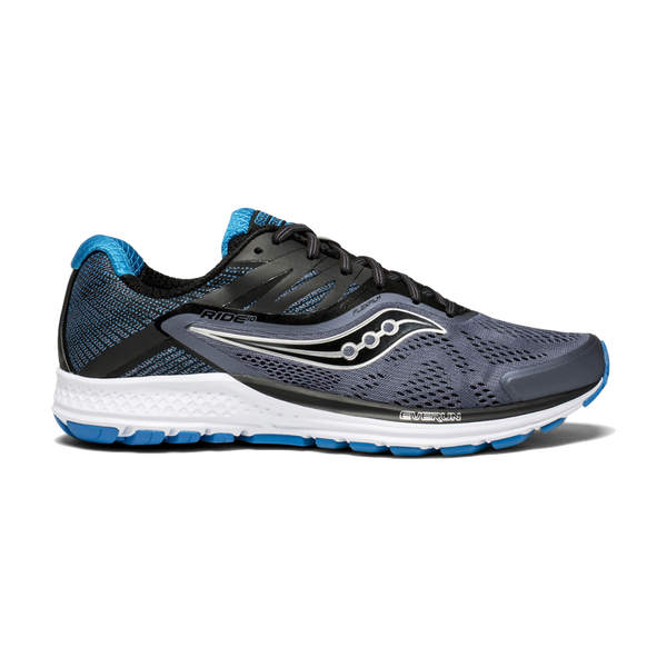 Saucony Men's Ride 10 Grey/Blue