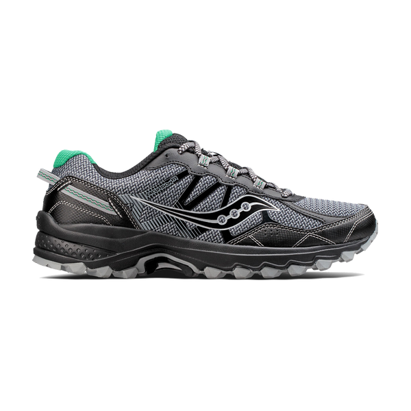 Saucony Men's Excursion TR11 Wide Grey/Black/Green