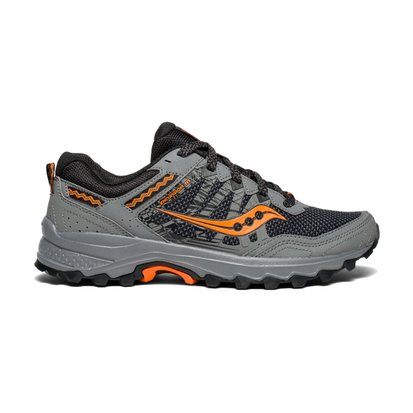 Saucony Men's Excursion TR12 Wide Grey/Orange