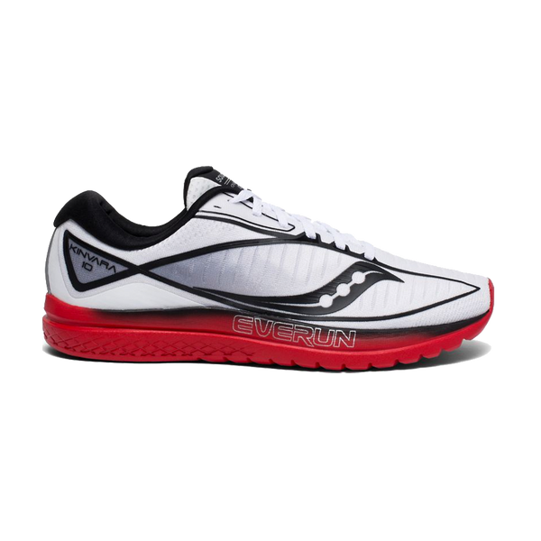 Saucony Men's Kinvara 10 Limited Edition White/Red