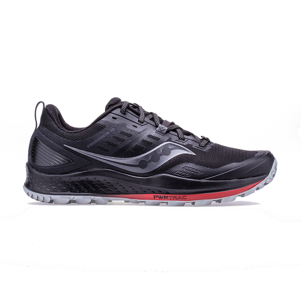 Saucony Men's Peregrine 10 Black/Red