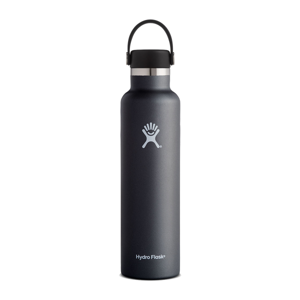 Hydro Flask 24oz Standard Mouth Black