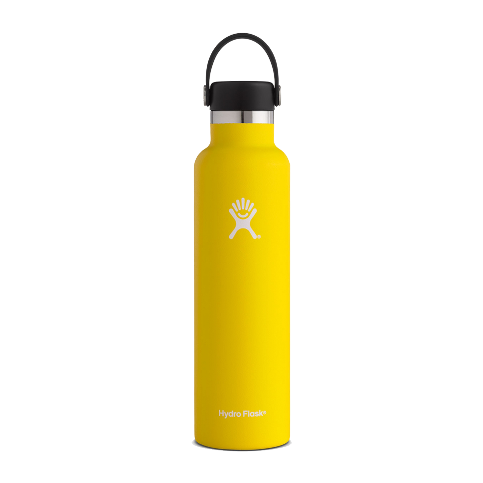 Hydro Flask 24oz Standard Mouth Lemon