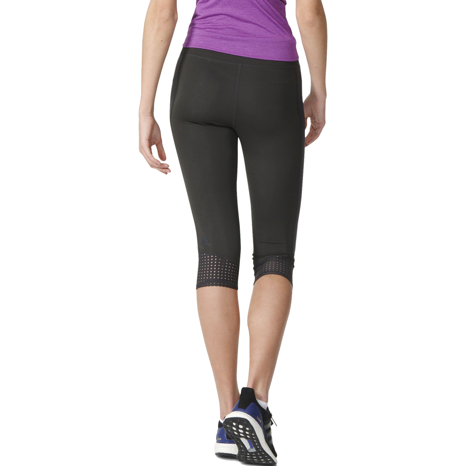 Adidas Women's Supernova Three-Quarter Tights Black