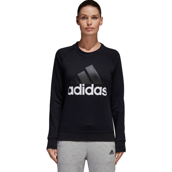 Adidas Women's Essentials Crew Black