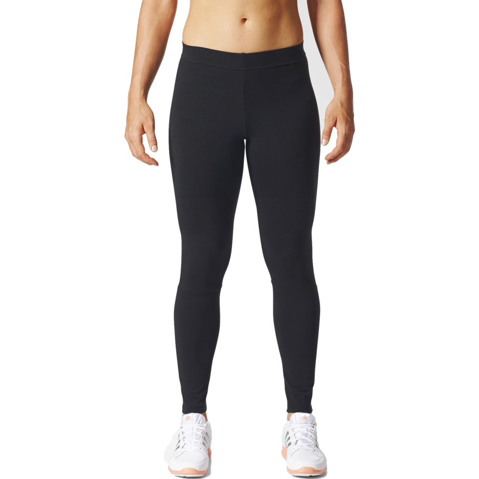 2d21a798be6 Adidas Women's Essential Linear Tights Black - Play Stores Inc