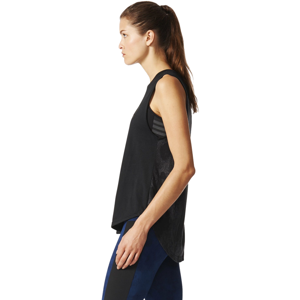 Adidas Women's Sleeveless Tee Black