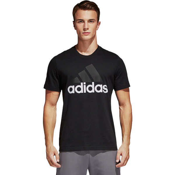 Adidas Men's Essential Linear Tee Black