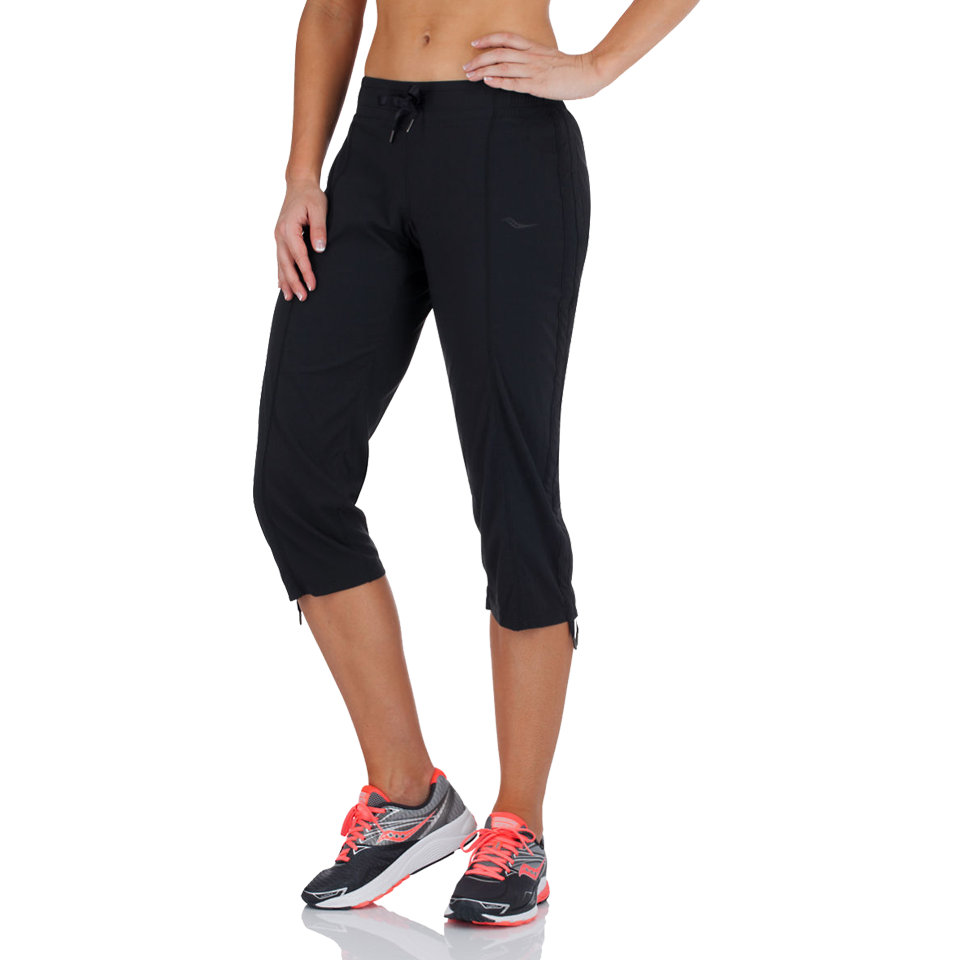 Saucony Women's City Capri Black