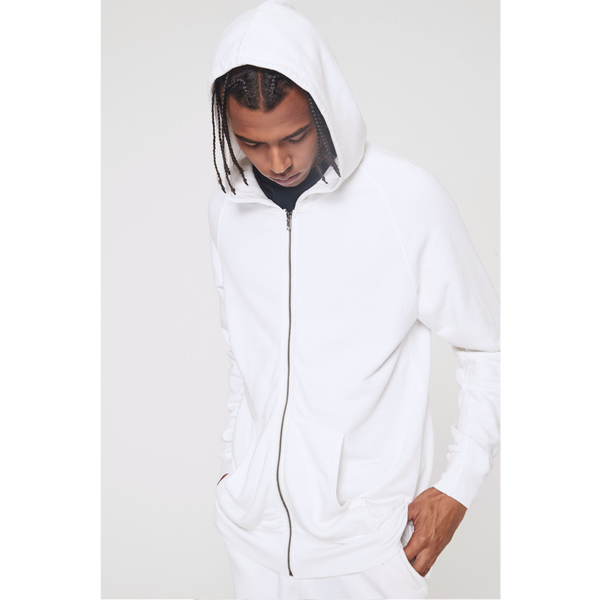 Spiritual Gangster Men's The Light Hoodie Whisper White