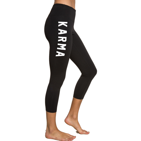 Spiritual Gangster Women s Karma Power Crop Black 76ba580873f