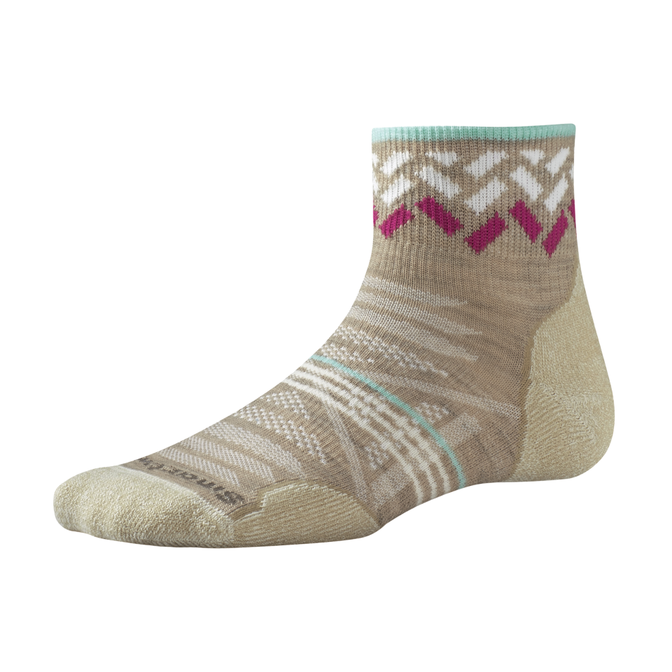 Smartwool Women's PHD Outdoor Light Pattern Mini Oatmeal