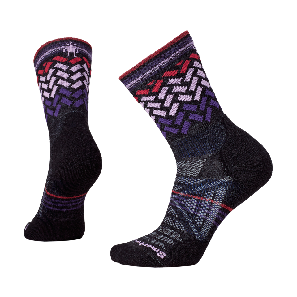 edde5ef10 Smartwool Women's PHD Outdoor Light Pattern Mid Crew Charcoal - Play Stores  Inc