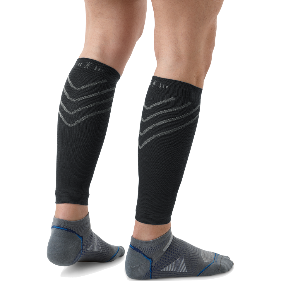 Smartwool Men's Compression Calf Sleeve Black