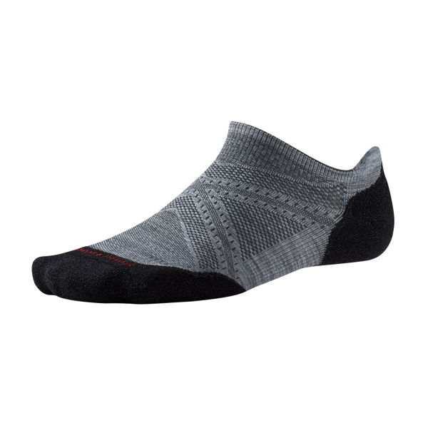 Smartwool Men's PHD Run Light Elite Micro Light Grey