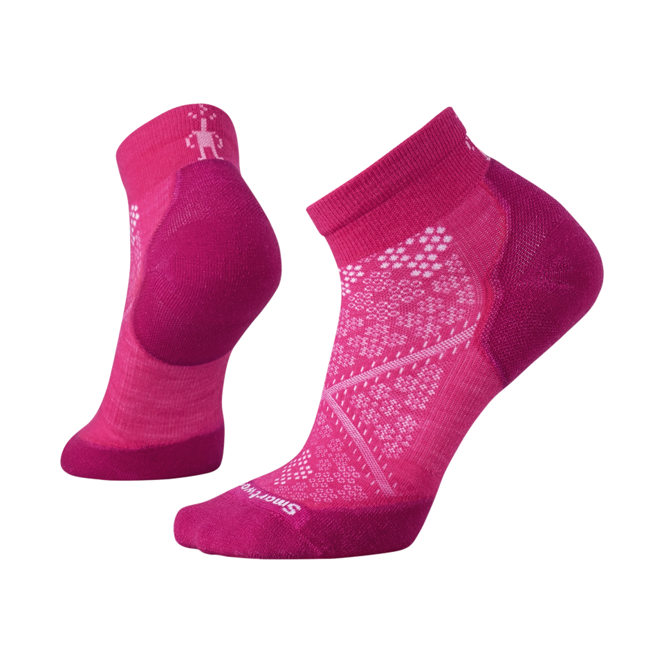 Smartwool Women's PHD Run Light Elite Low Cut Bright Pink