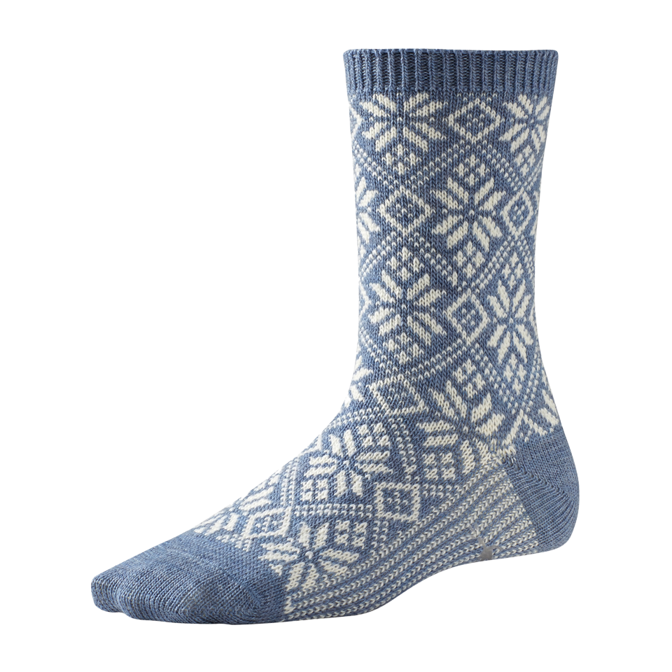 Smartwool Women's Traditional Snowflake Blue Steel