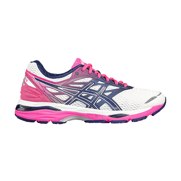 Asics Women's Gel Cumulus 18 White/Indigo Blue