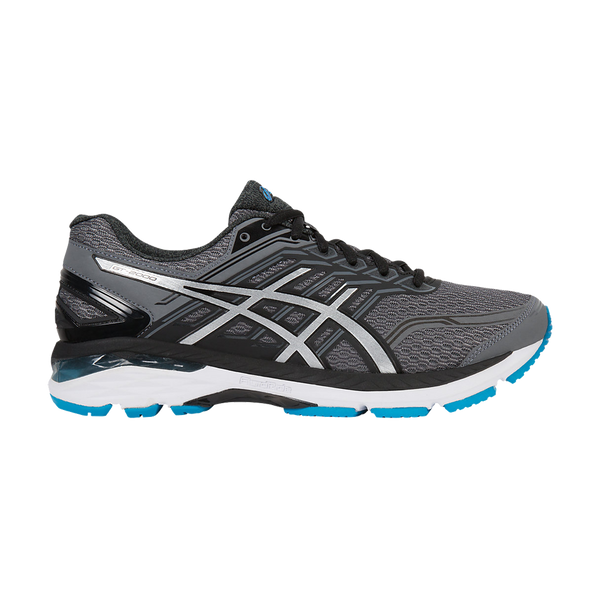 Asics Men's GT-2000 5 Carbon/Island Blue