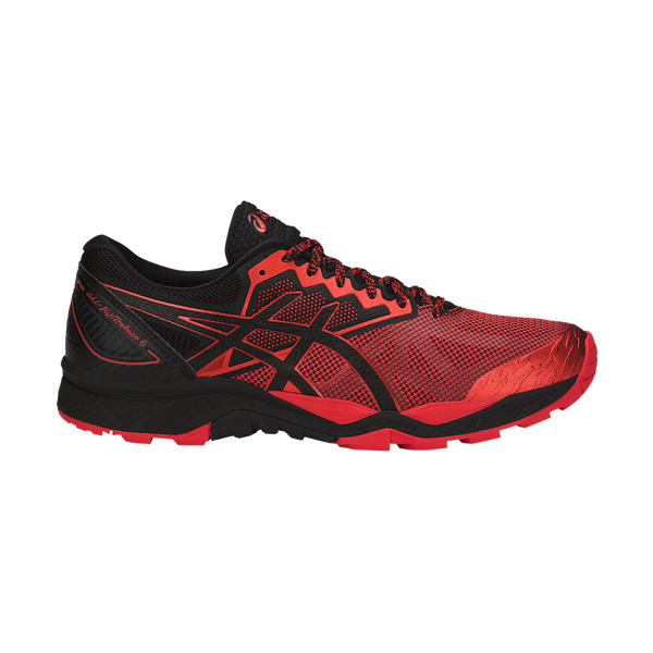 Asics Men's Gel-Fujitrabuco 6 Black/Red