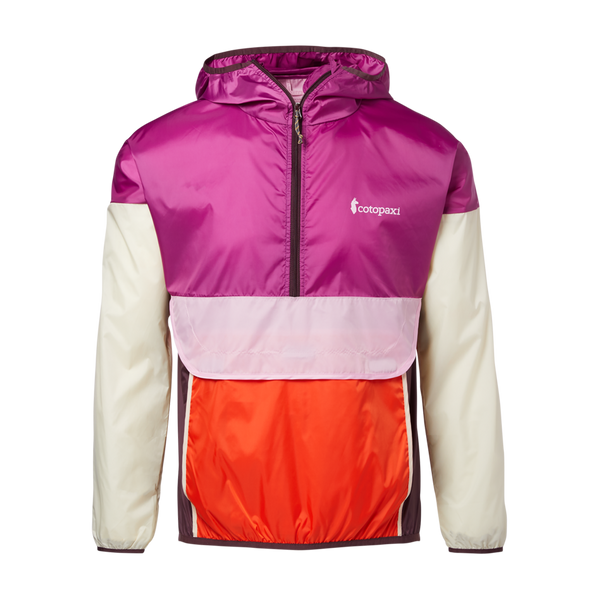 Cotopaxi Women's Teca Half-Zip Windbreaker A La Mode