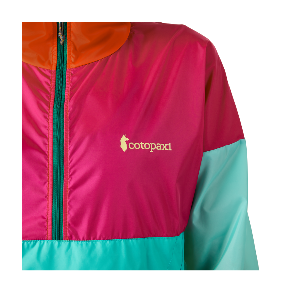 Cotopaxi Women's Teca Half-Zip Windbreaker La Playa