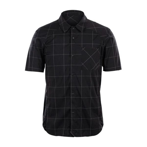 Sugoi Men's Off Grid Work Shirt Black Plaid