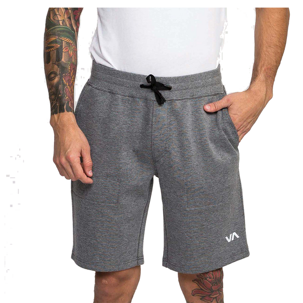 RVCA Men's Sideline Short Heather Grey