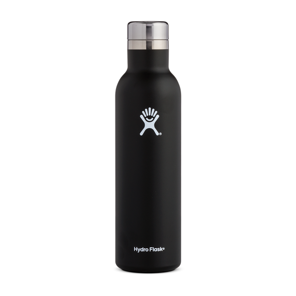 Hydro Flask 25oz Wine Bottle Black
