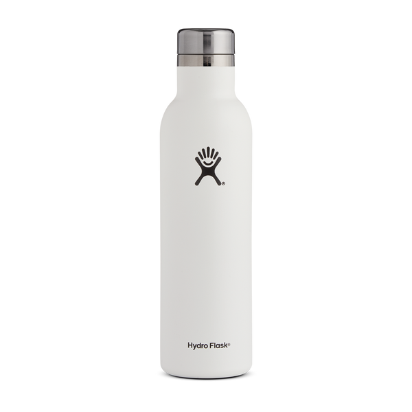 Hydro Flask 25oz Wine Bottle White