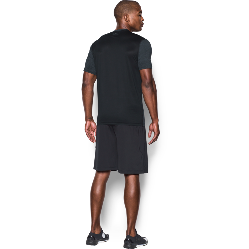 Under Armour Men's Raid Short Sleeve Tee Stealth Grey