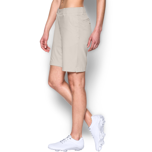 Under Armour Women's Links Golf Short Vanilla