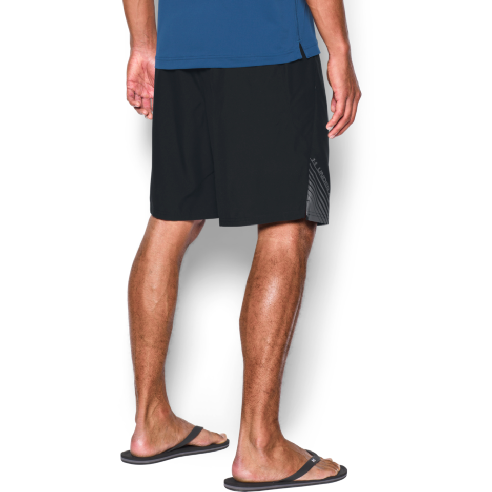 Under Armour Men's Surf Mania Volley Short Black