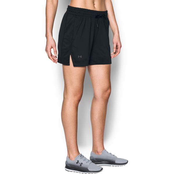 "Under Armour Women's HeatGear Got Game 5"" Short Black"