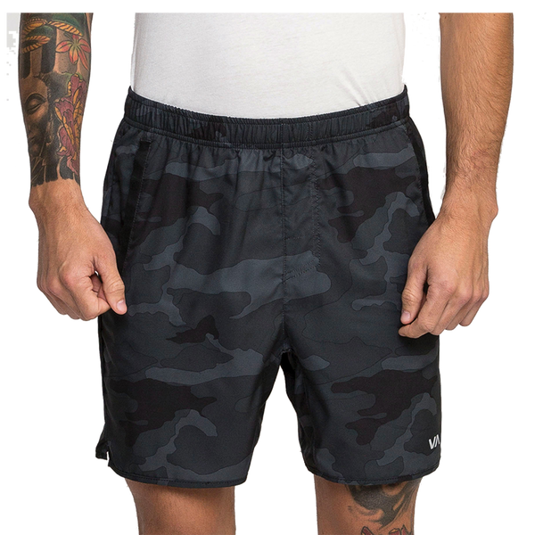 RVCA Men's Yogger III Short Camo