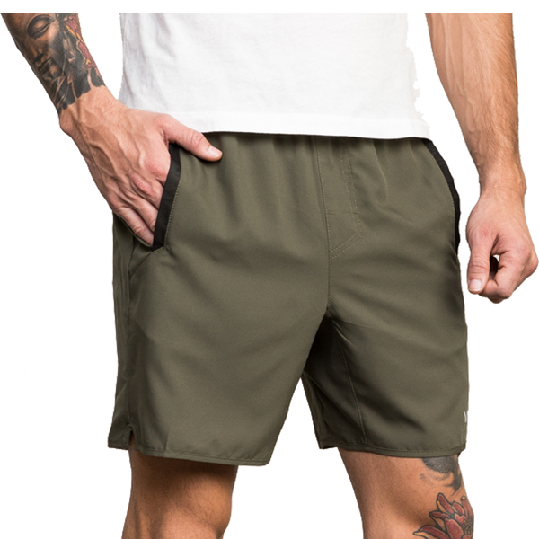 RVCA Men's Yogger III Short Olive