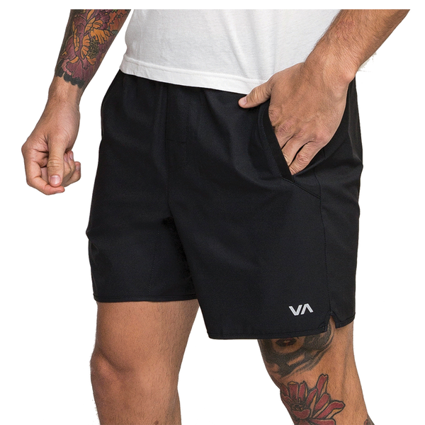 RVCA Men's Yogger III Short Black