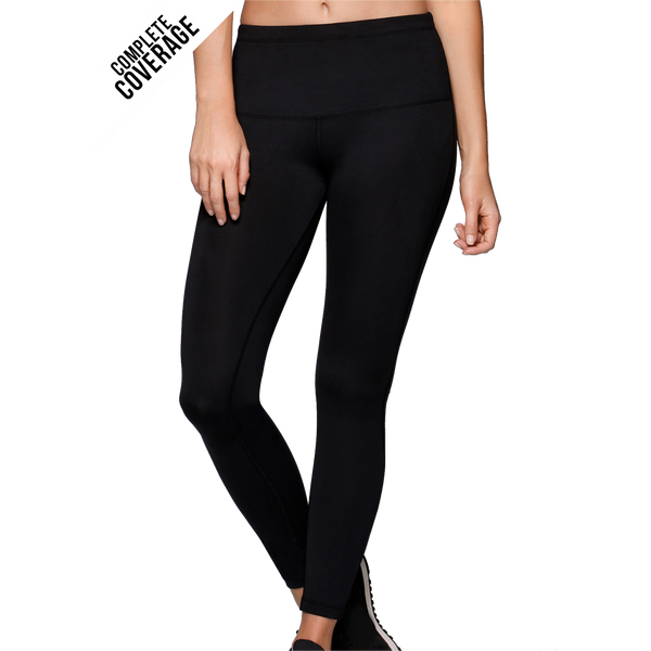 Lorna Jane Women's Nothing 2 C Here Full Length Tight Black