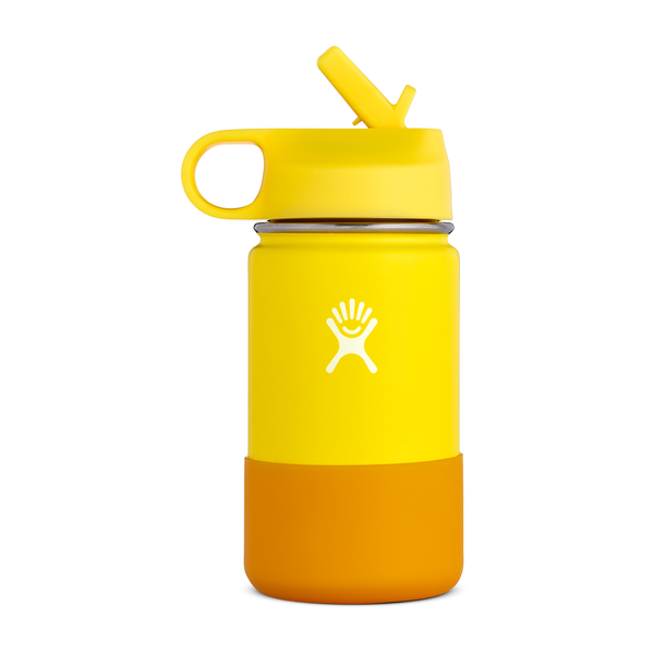 Hydro Flask 12oz Kids Wide Mouth Lemon