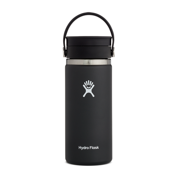 Hydro Flask 16 oz. Wide Mouth With Flex Sip Lid Black