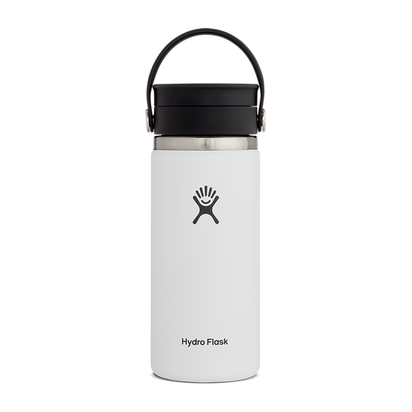 Hydro Flask 16 oz. Wide Mouth With Flex Sip Lid White