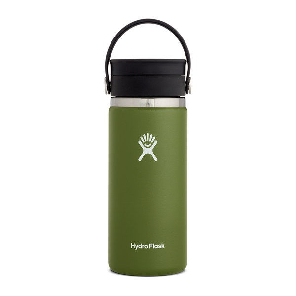 Hydro Flask 16 oz. Wide Mouth With Flex Sip Lid Olive