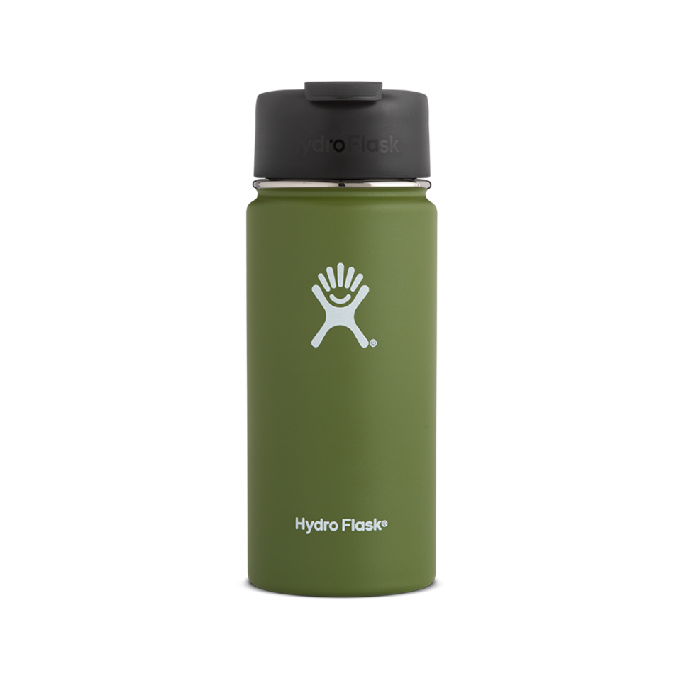 Hydro Flask 16oz Wide Mouth With Flip Lid Olive