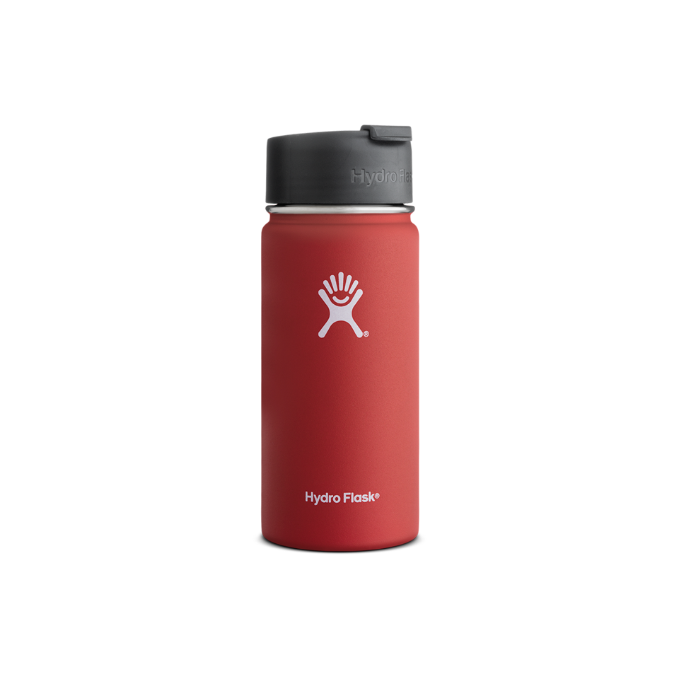 Hydro Flask 16oz Wide Mouth With Flip Lid Lava