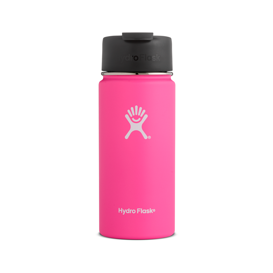 Hydro Flask 16oz Wide Mouth With Flip Lid Flamingo