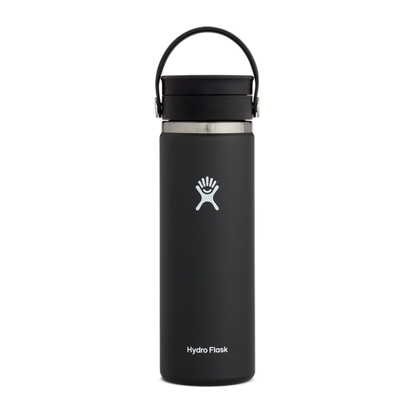 Hydro Flask 20 oz. Wide Mouth With Flex Sip Lid Black
