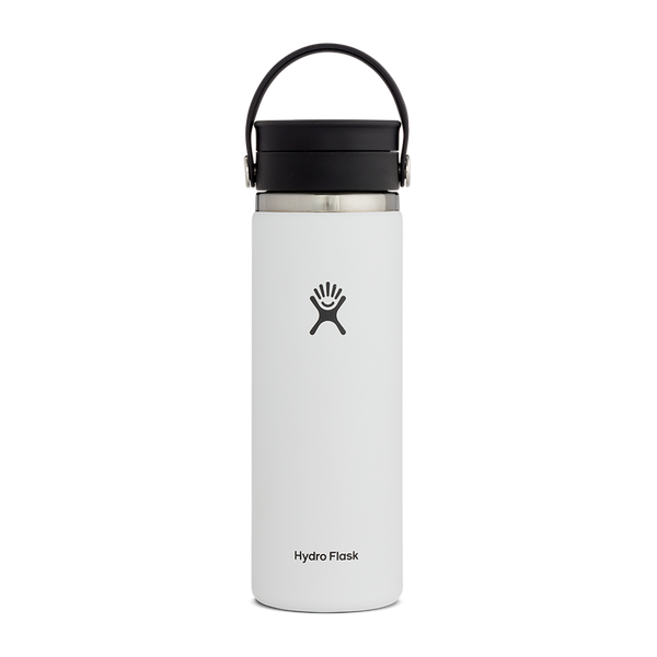 Hydro Flask 20 oz. Wide Mouth With Flex Sip Lid White