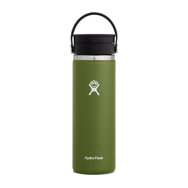 Hydro Flask 20 oz. Wide Mouth With Flex Sip Lid Olive