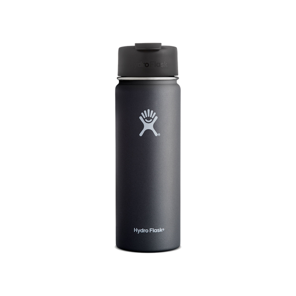 Hydro Flask 20oz Wide Mouth With Flip Lid Black