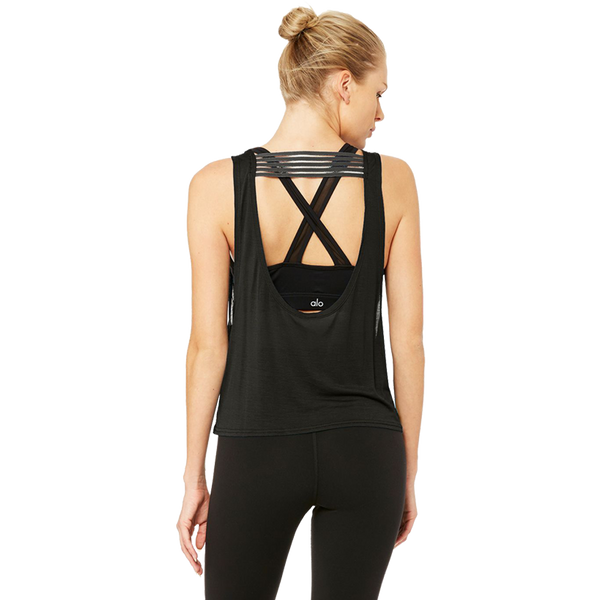 Alo Yoga Women's ACME Tank Black